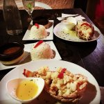 The best lobster dish with rice and beans at Salpicon