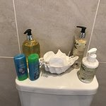 Great toiletries provided