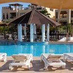 Tala Bay Beach Club on Aqaba South Beach - Swim-up bar