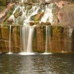 Waterfall at Montello, WI Granite Park