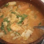 Arroz De Marisco (seafood with rice)