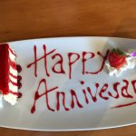 45th Anniversary! This was a lovely surprise from Bill's!