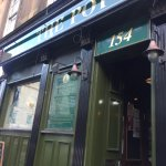 Entrance on Hope Street with little history about the pub