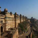 Gwalior  Fort night and day