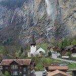Lauterbrunnen from cogtrain