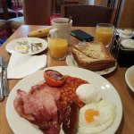 Cooked to order Brekkie - Lovely!
