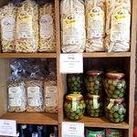 artisan pasta, Sicilian olives, gold balsamic!