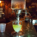 Absinthe at Pirate's Alley Cafe