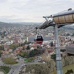 Aerial Tramway in Tbilisi Foto