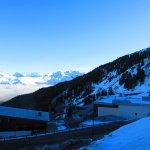 Vue balcon côté Mont Blanc