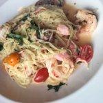 Shrimp Arrabiata pasta