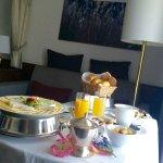 Frühstück auf dem Zimmer
