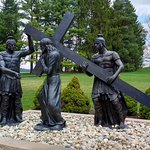 Life-sized Stations of the Cross