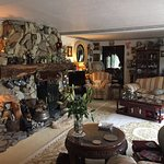 Stunning lounge/seating area with many interesting artefacts from Joe's travels around the world