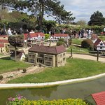 Panoramic view of the Model Village..