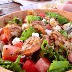 Excellent Shrimp & Watermelon Salad!