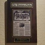 Boston Globe praise