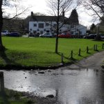 The Fountaine Inn, Linton Beck ford and village green, Linton-in-Craven
