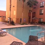 Homewood Suites heated pool