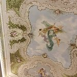 One of several great ceilings in the palace