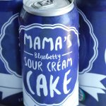 Mama's Blueberry Sour Cream Cake... IN A CAN!