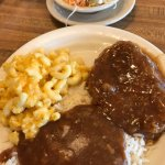 We were on the north side of Columbia at lunch time. We stopped in at Lizards thicket. I had the
