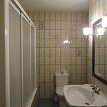 Detalle del baño de la habitación 7