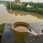 Relax with coffee with view from Ex.Lounge