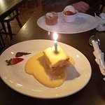 Birthday Pudding!