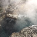 Very active boiling pool
