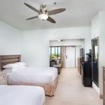 Cabana suite with semi-private patio