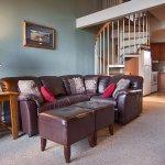Condo Living Room & Kitchen