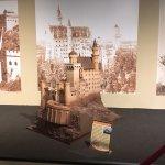 Chocolate Sculpture of a German Castle