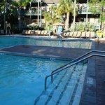 Resort side pool