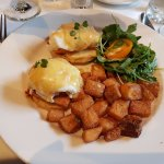 """The """"seafood"""" Benedict"""