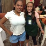 Gracias kid's club por darnos una noche de chefs  Con las instructoras ANA & DALIZ❤️ #Decorandog