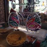 Easter buffet ice carving
