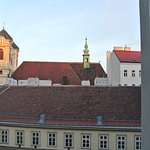 View from sitting area of suite, Hotel Alstadt