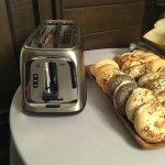 Continental Breakfast - toaster