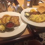 french toast & an omelet