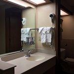 Bathroom at Bryce Canyon Lodge