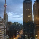 View from our room, you can see CN Tower.