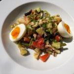 Salad Nicoise for lunch