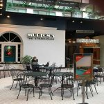Morton's Steak House - from within the Crystal City Shopping Mall