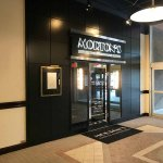 Morton's Steak House entrance from the Crystal City Shopping Mall