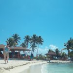 small Caye with shade if wanted