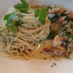 Shrimp with Angel Hair Pasta