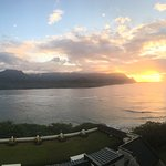 Preparing for sunset at the St Regis, Princeville, Kauai, Hawaii.