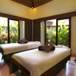 A tranquil and private spa villa room to ensure the quality of treatment.