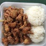 Korean chicken and teriyaki chicken